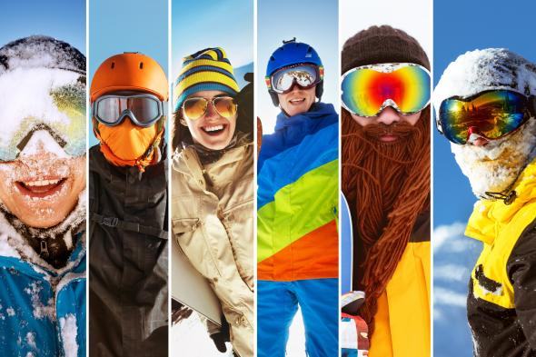 Free transportation for ski and snowboard equipment