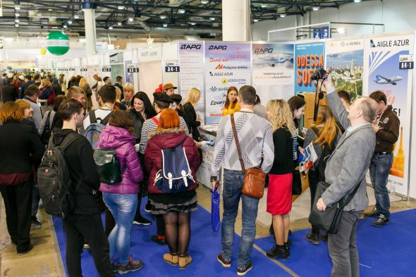 Bulgaria Air participated in the largest tourist exhibition in Kiev