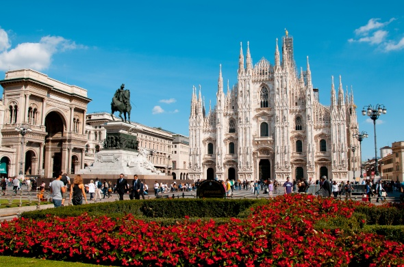 Flights to Milan – from April on Sundays as well!