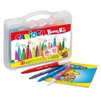 CARIOCA COLOR SET TRAVEL KIT