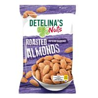 DETELINA'S NUTS ROASTED ALMONDS