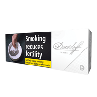 DAVIDOFF WHITE 200 PCS