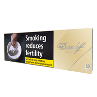 DAVIDOFF GOLD SLIMS 200 PCS
